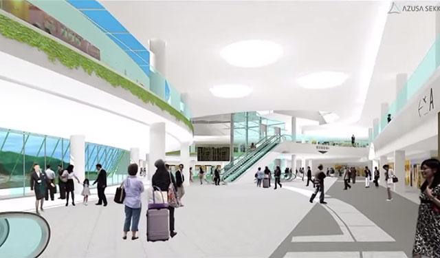 生まれ変わる福岡空港、動画で見る国内線再整備計画
