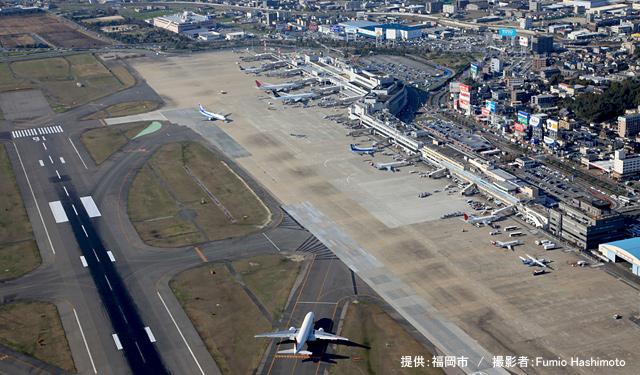 福岡空港 滑走路増設、 国交省「民間委託が進まなければ難しい」