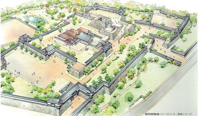 福岡城整備基金の愛称「福岡みんなの城基金」に決定