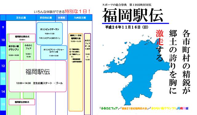 初開催の福岡駅伝 1位は北九州市