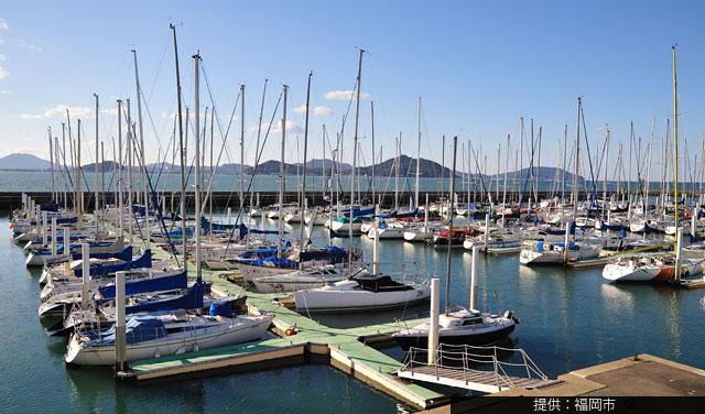 福岡市ヨットハーバーが「海の駅」認定