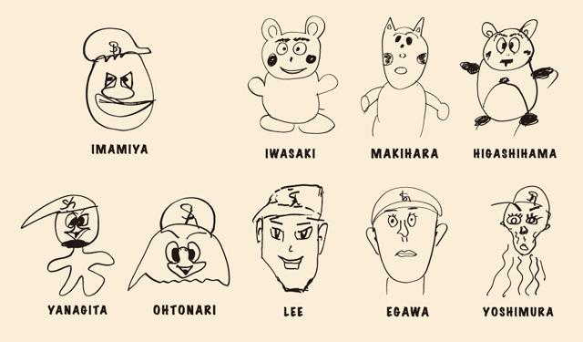 ホークス選手が描いたイラストグッズ予約受付中 福岡のニュース