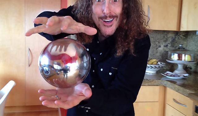 アルミの球を浮上させる一発芸が話題に
