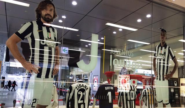 JR博多シティ3Fにイタリアの名門「ユヴェントスFC」