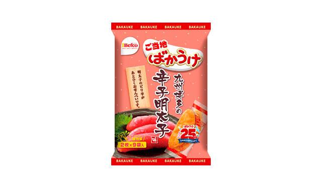 ご当地ばかうけ「辛子明太子味」発売