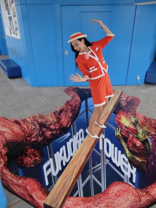 福岡タワーがスプリングイベント開催
