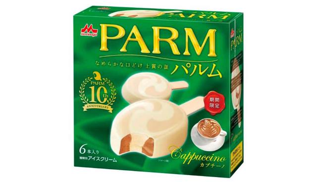 森永乳業「PARM(パルム)」カプチーノ新発売