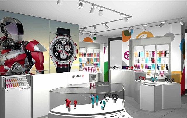スウォッチが九州初の直営路面店を大名にオープン