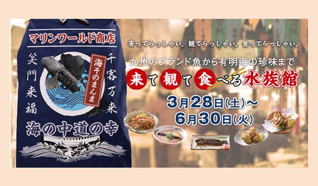 マリンワールド海の中道「来て観て食べる水族館」