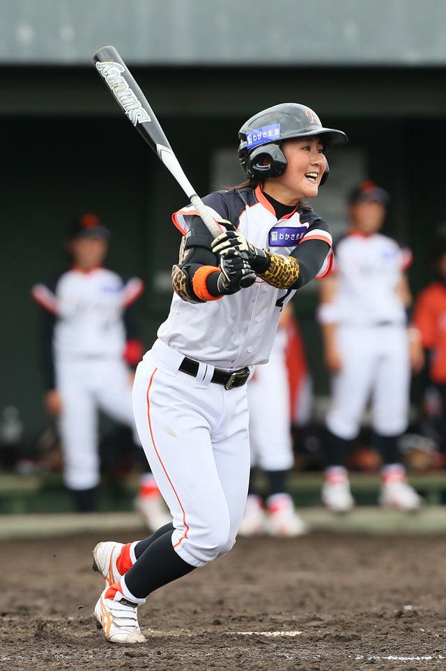 日本女子プロ野球 月間MVPに福岡県出身打者