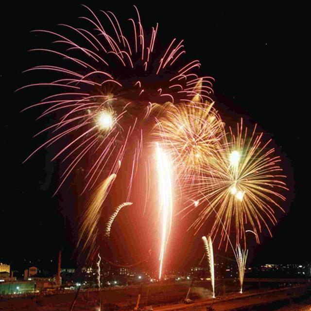 第94回遠賀川川開き「飯塚納涼花火大会」8月開催