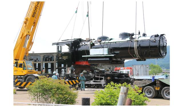 志免町の「蒸気機関車」生まれ変わって無事に玖珠町へ