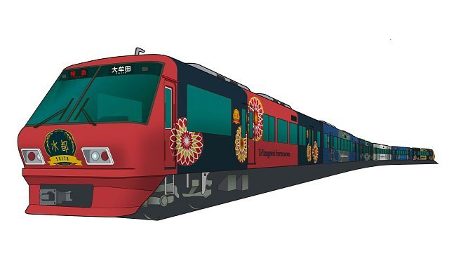 西鉄が今秋から柳川観光列車「水都」運行へ