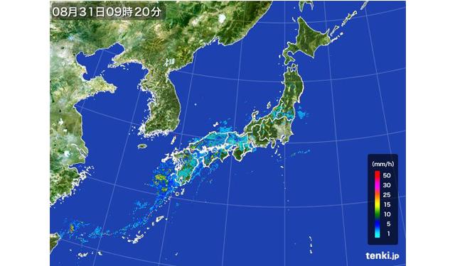 九州北部 大気の状態が非常に不安定「土砂災害に警戒」 | 福岡 ...