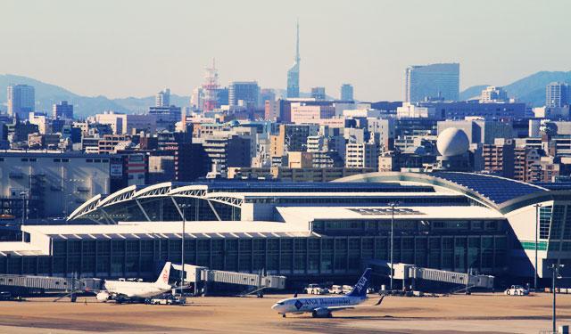 福岡空港、国内線・国際線ターミナル一部店舗の営業時間変更について