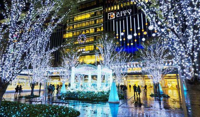 「光の街・博多」約70万球の壮大なイルミネーション