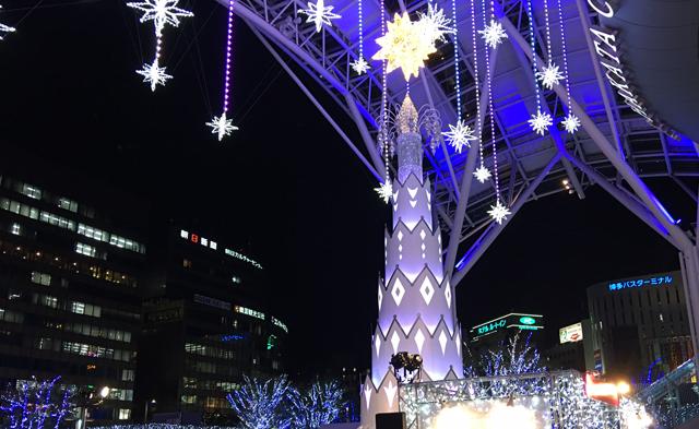 天神と博多で開催中の「クリスマスマーケット」本日25日まで