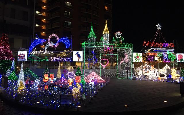 那珂川市「博多南駅」展望デッキにイルミネーション!11月24日点灯!