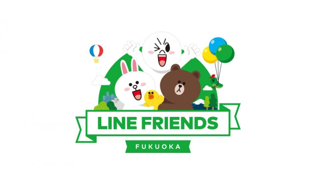 LINE公式キャラクターグッズショップ、福岡にオープン