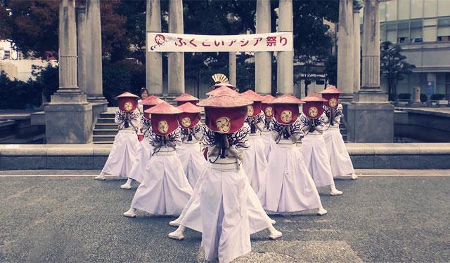 福岡のよさこいチーム「大宰府まほろば衆」がカッコイイと話題に