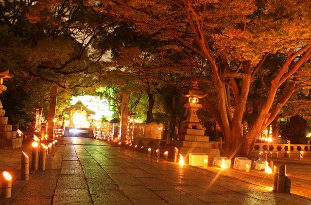 水天宮恋ものがたり ライトアップコンサート&灯明まつり