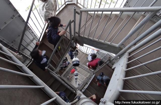 4月23日・24日の福岡タワー「階段のぼり大会」は中止