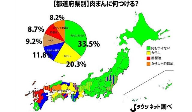 肉まんの「食べ方」といえば?九州は「酢醤油」派