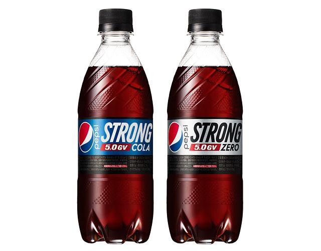 ペプシ史上最強炭酸×強カフェインの新商品誕生