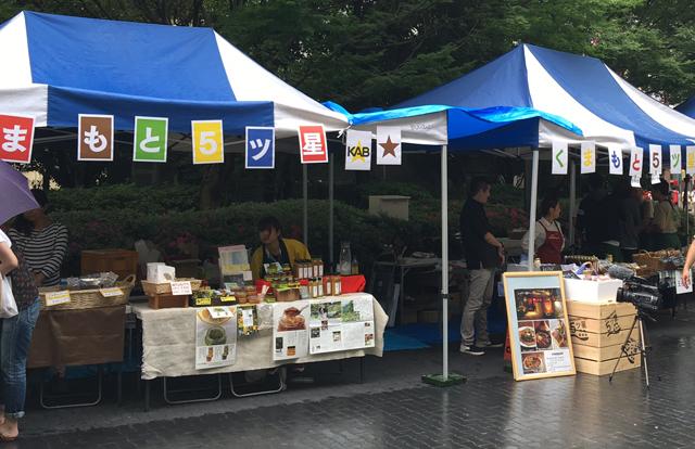 熊本を元気に!福岡市役所 九州広場で「復興支援マルシェ」