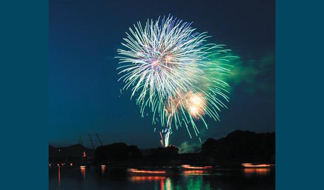 小郡市で花火大会「夢HANABI2016」(8000発)