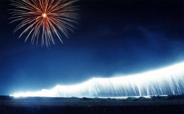 柳川市で「第19回 有明海花火フェスタ」(8000発)