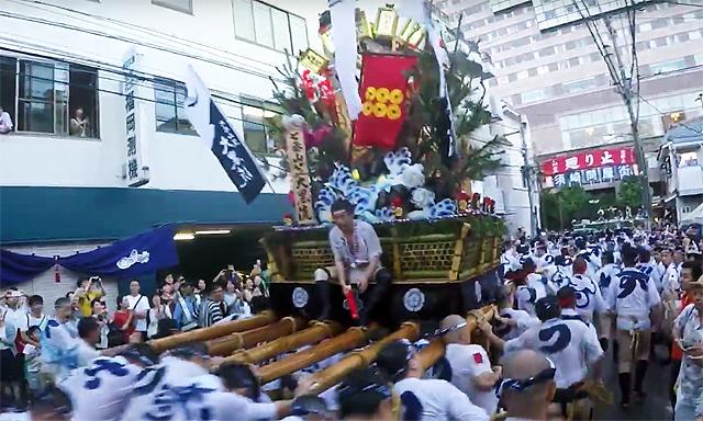 2017年度「博多祇園山笠」のスケジュール