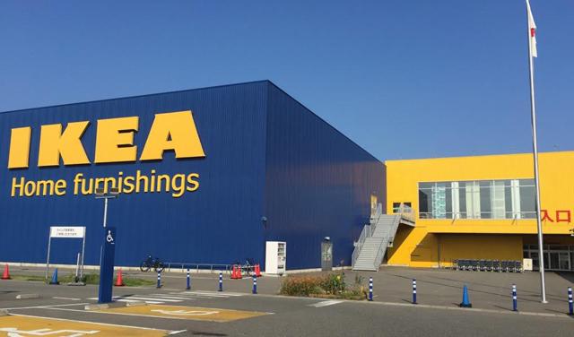IKEA福岡新宮 駐車場で「サステナマーケット」