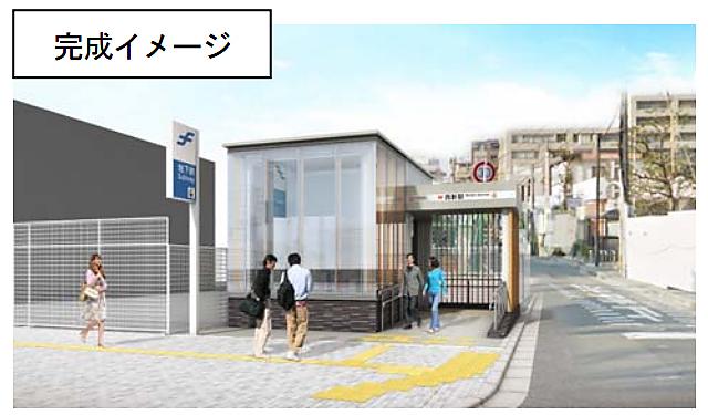 地下鉄西新駅の新設エレベーターが利用開始へ