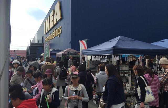 IKEA福岡新宮テナント入口にて「サステナマーケット」開催