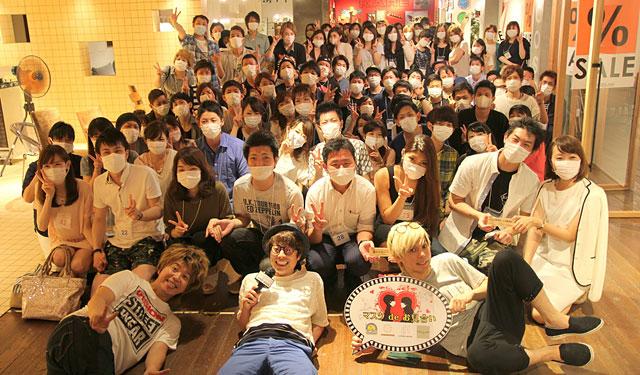 田村淳氏の司会「マスクdeお見合い」福岡で開催