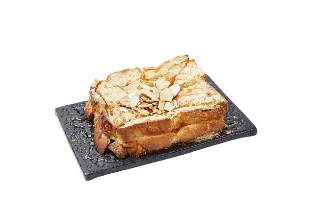きな粉餅トースト
