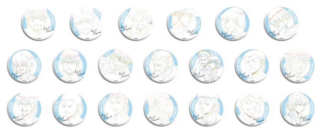 原画トレーディング缶バッジコレクション20種 税込500円