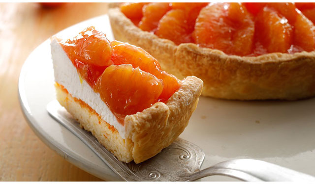 スタバで2種類のオレンジを楽しめる『オレンジパイ』発売中