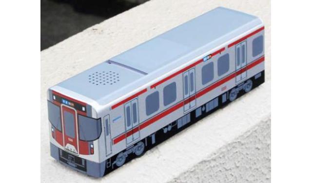 西鉄が「新型車両9000形&朝倉ちはや」のグッズ発売へ