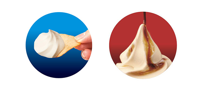 赤城乳業から「ソフトクリームの上だけ」発売へ
