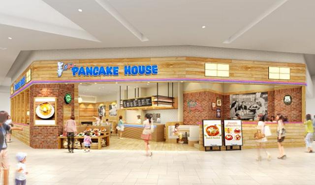 イオンモール筑紫野に『オリジナルパンケーキハウス』出店へ