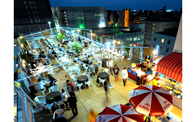 夏季限定「ホテルセントラーザ博多屋上ビアガーデン」オープン