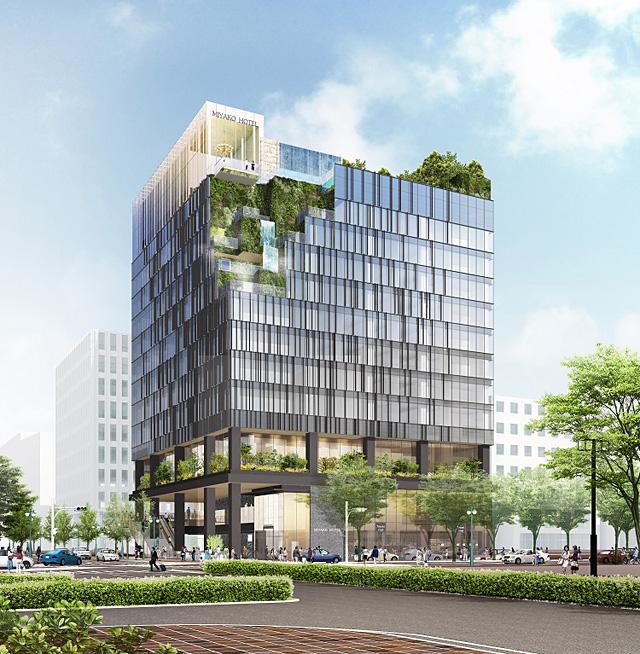 博多都ホテル建替えへ「(仮称)近鉄博多ビル」計画概要