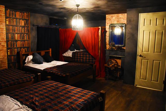 博多に魔法学校をコンセプトにした民宿オープン