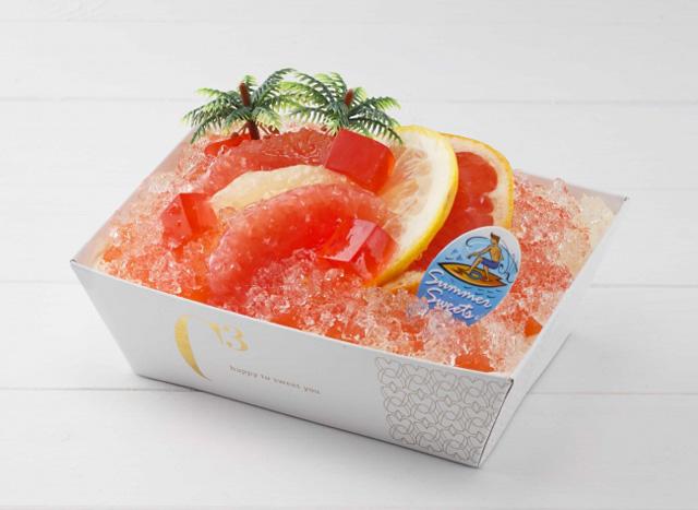 「サマーグレープフルーツティラミス L」1,728円(税込)