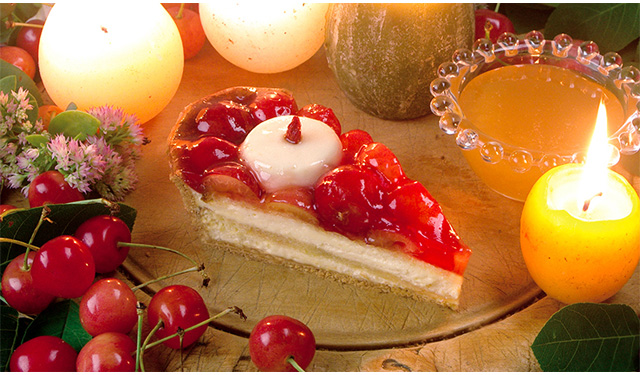 キルフェボンから『佐藤錦のキャンドルナイトケーキ』2日間限定発売へ