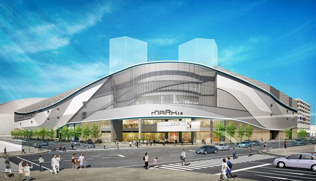 ホークスタウンモール跡地の商業施設棟が着工、施設名称は『MARK IS 福岡ももち』