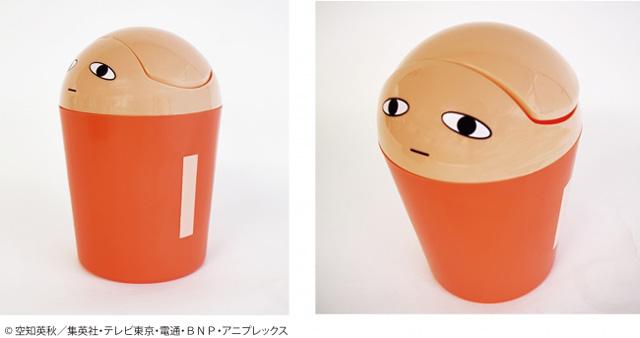 ジャンプショップで人気アニメ「銀魂」の『ジャスタウェイのゴミ箱』発売へ