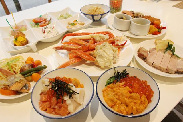ウニ・カニ・イクラ・夕張メロンソフトクリームも食べ放題!ホテル日航福岡の北海道フェアがガチで凄かった